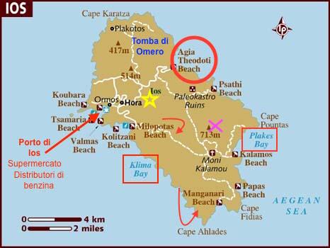 Mappa di Ios