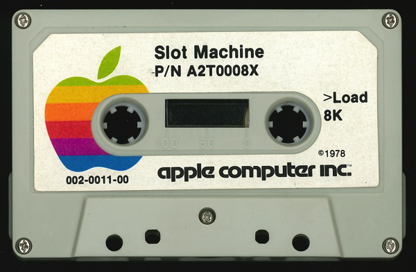 Game Tapes For The Apple II, versione del '78.