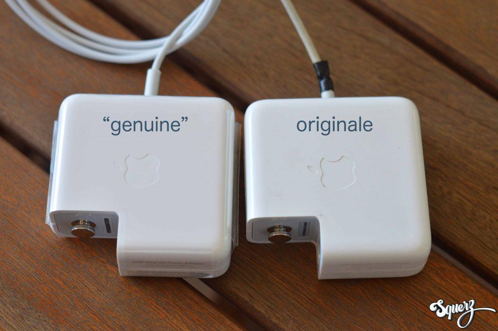 magsafe genuine vs. originale
