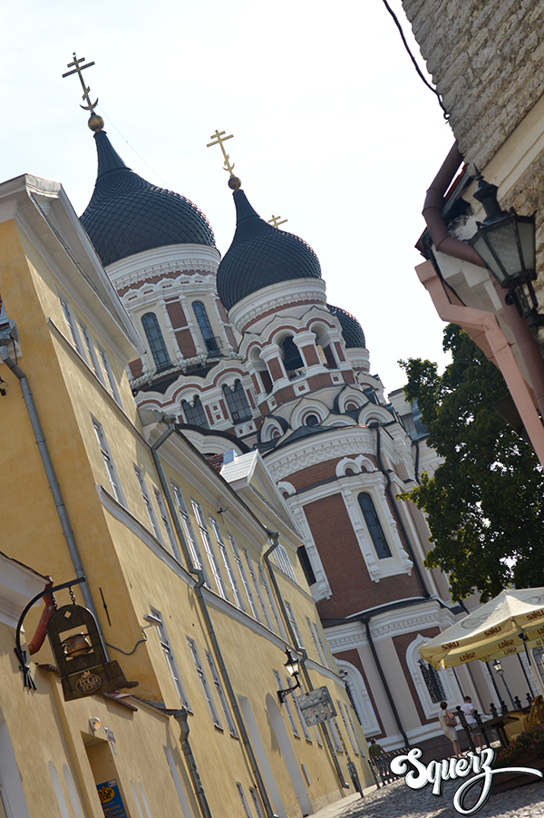 Cattedrale di Aleksandr Nevskij, Tallinn.