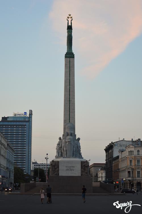 Monumento alla Libertà a Riga