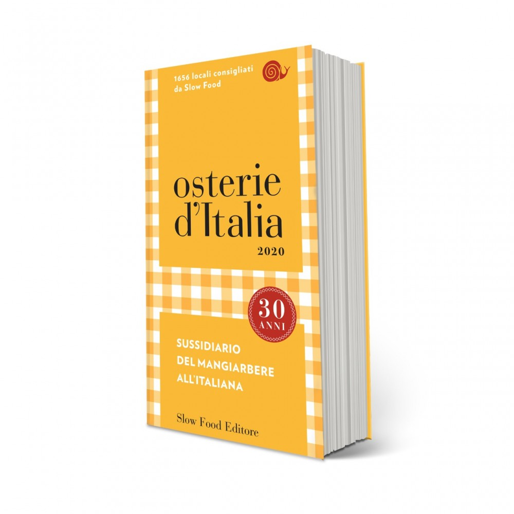 Osterie d'Italia 2020 edito da Slow Food editore