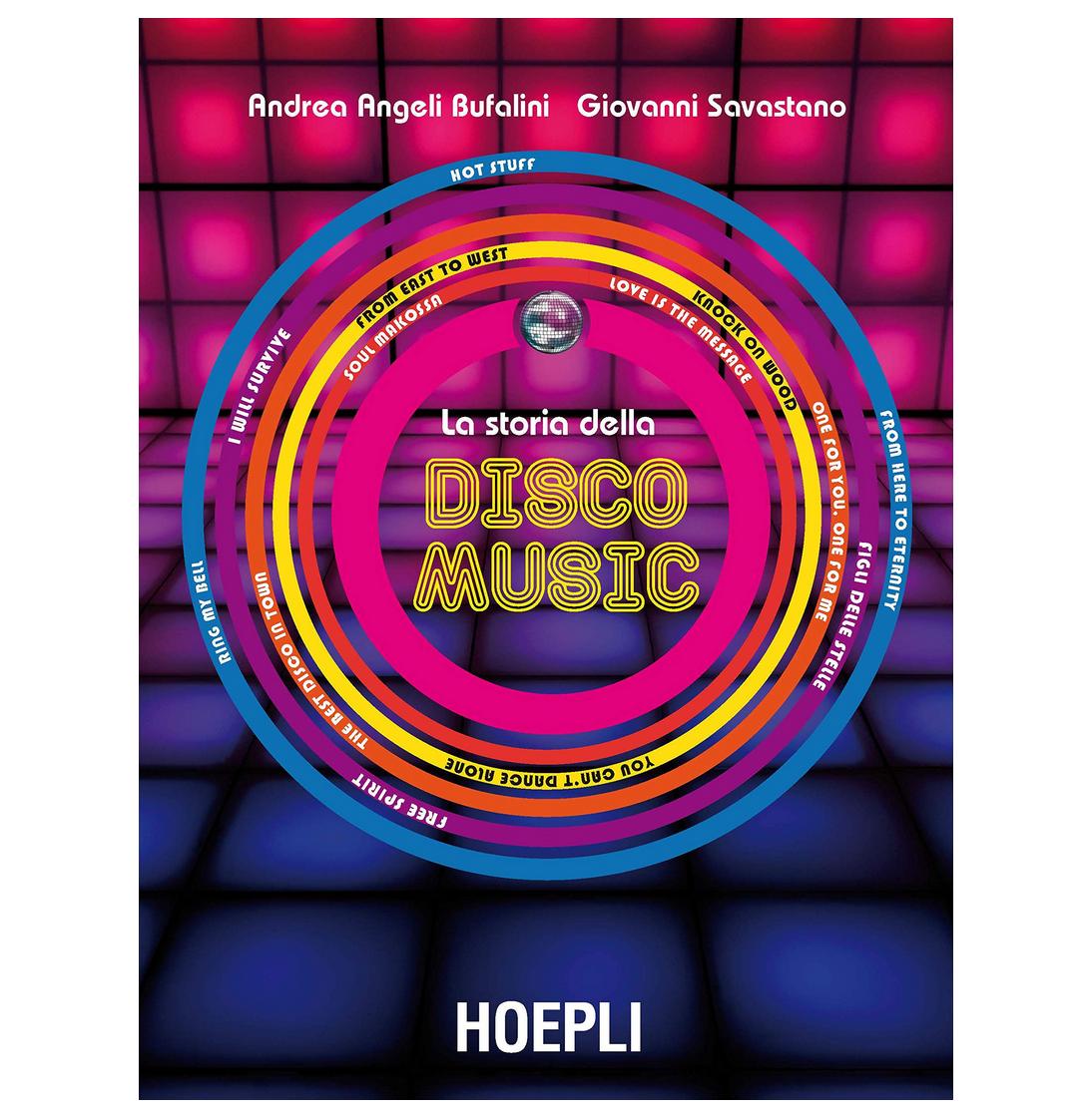 libro La storia della disco Music edito da Hoepli