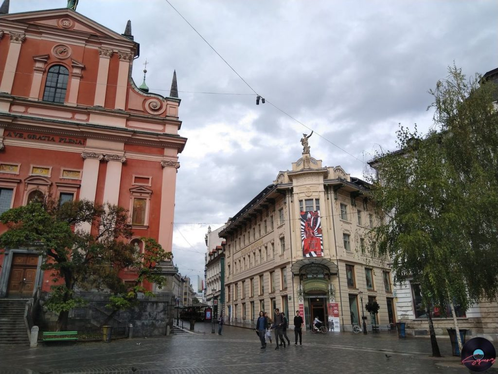 Lubiana Piazza Preseren