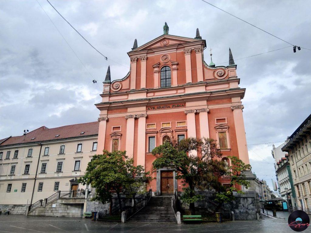 Chiesa Francescana Lubiana