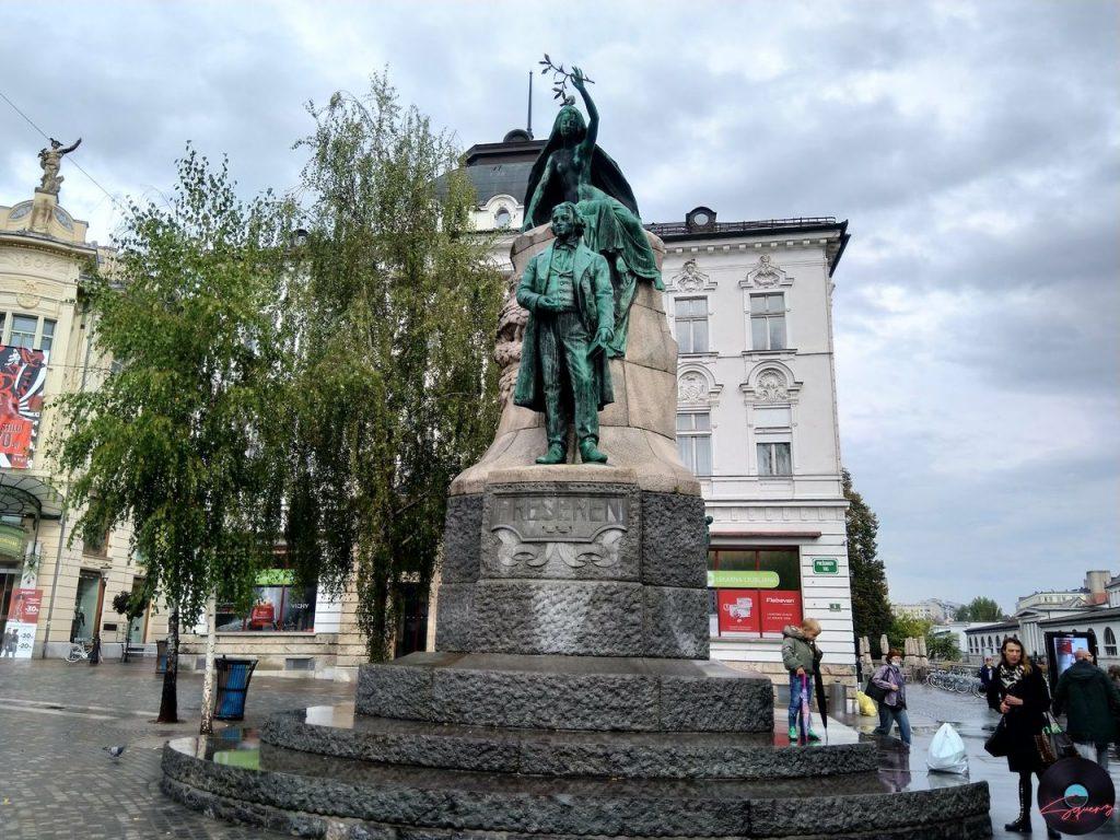 Monumento France Preseren Lubiana